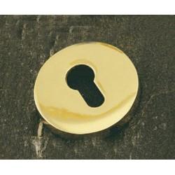 """Roseta de 65mm. con bocallave """"A"""" mod. 1703/50. Latón"""