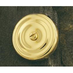 Roseta 65mm. botón de emergencia. mod 1702/50. Latón