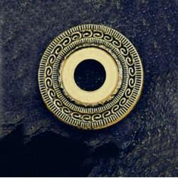 Adorno mirilla de 50mm. mod. 1006/8-. Latón