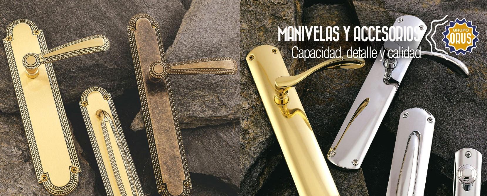 Manivelas y accesorios